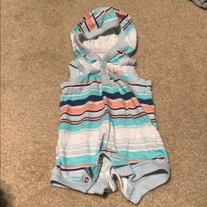🌈4/$25🌈 Carter's Summer One Piece w/ Hood